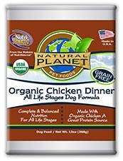 Natural Planet Organic Chicken Dinner Dog Food