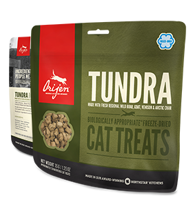 ORIJEN Tundra Freeze Dried Cat Treat