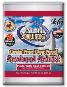 NutriSource Grain Free Seafood Select Dog Food