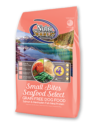 NutriSource® Small Bites Seafood Select Grain Free Dog Food