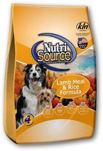 NutriSource®  Lamb Meal & Rice Formula for Dogs