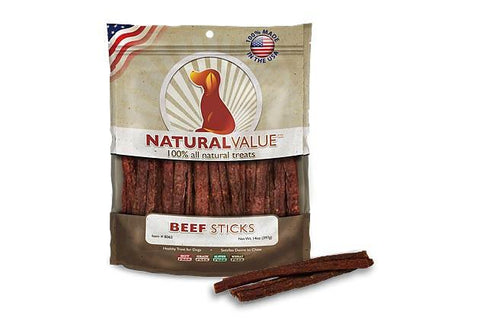 Natural Value™ Beef Meat Sticks for Dogs