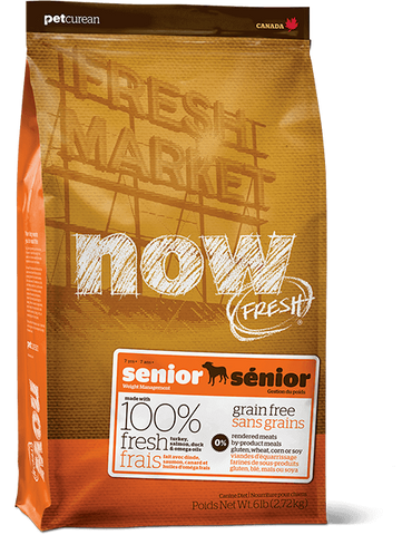 Now! Grain Free Senior Dog Food Recipe