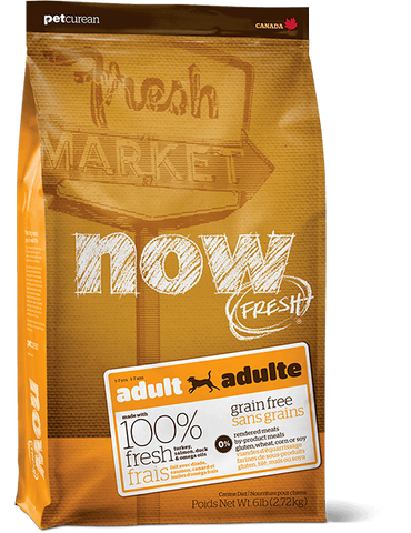Now! Grain Free Adult Dog Food Recipe