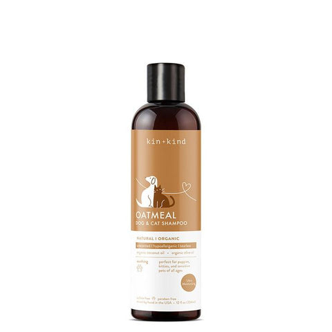 Kin + Kind Oatmeal Unscented Dog and Cat Shampoo