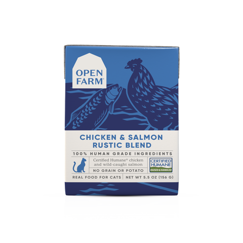 Open Farm Chicken & Salmon Rustic Blend for Cats