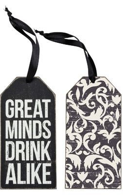 Copy of Primitives By Kathy Bottle Tag - Drink Alike