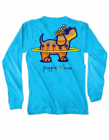 Puppie Love Long Sleeve Tee Puparoo