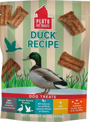 Plato - Real Duck Strips Dog Treats