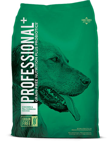 Professional+ Chicken & Pea Formula for Adult Dogs
