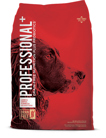 Professional+ Lamb & Lentils Formula for Adult Dogs