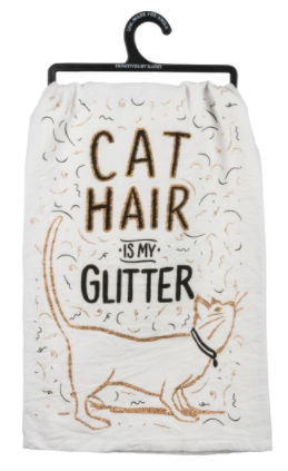 Dish Towel - Cat Hair Glitter