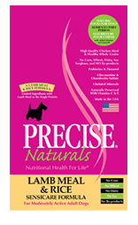 Precise Naturals Lamb Meal & Rice Sensicare Dog Food