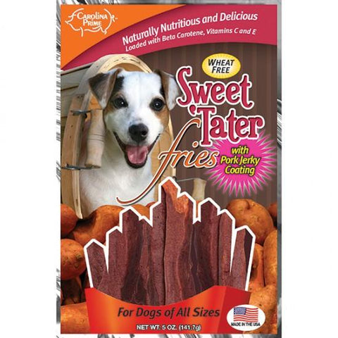 Carolina Prime Sweet 'Tater Fries - Pork Coated for Dogs