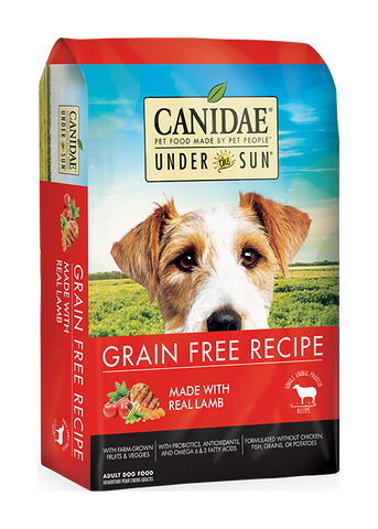CANIDAE® UNDER THE SUN® GRAIN FREE RECIPE Dog Food  WITH LAMB