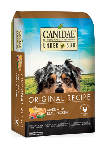 CANIDAE® UNDER THE SUN® ORIGINAL RECIPE Dog Food  WITH CHICKEN