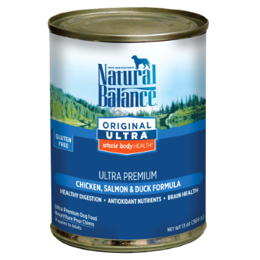 Natural Balance Original Ultra® Whole Body Health® Chicken, Salmon & Duck Canned Dog Formula