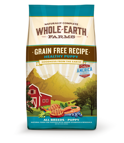 Whole Earth Farms Grain Puppy Recipe