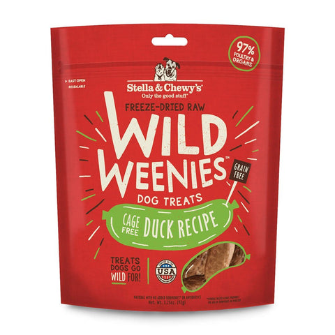 Stella & Chewy's Cage-Free Duck Wild Weenies Dog Treats