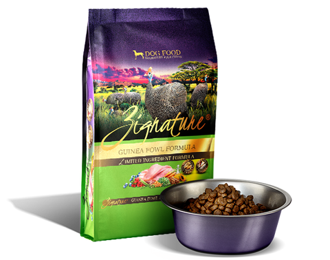 Zignature Guinea Fowl Formula Dry Dog Food