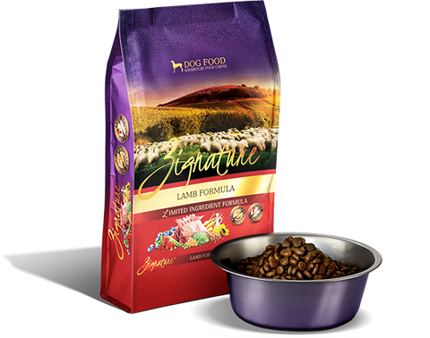 Zignature Lamb Formula Dry Dog Food
