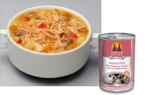 Weruva Amazon Liver With Chicken and Chicken Liver in Pumpkin Soup Dog Food