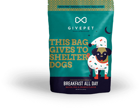 GivePet Breakfast All Day Dog Treats