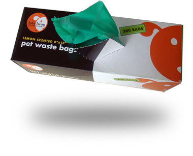 Lola Bean Pet Waste Bag Rolls - Large