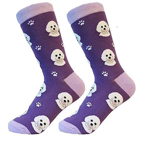 Sock Daddy Breed Socks, Bichon Frise