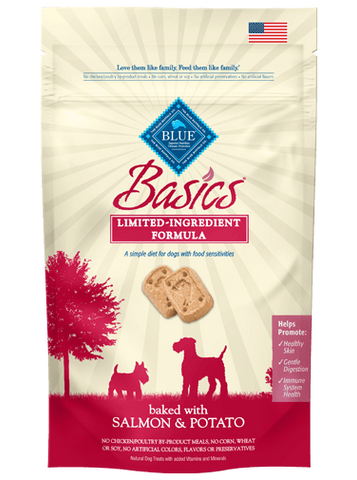 Blue Buffalo BLUE Basics® Salmon & Potato Biscuits for Dogs