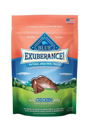Blue Buffalo BLUE Exuberance!® Tasty Chicken Jerky for Dogs