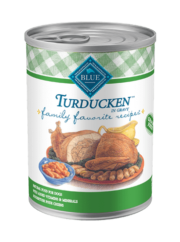 Blue Buffalo BLUE Family Favorite Recipes® Turducken Wet Dog Food for Dogs