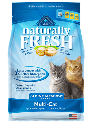 Blue Buffalo BLUE Naturally Fresh® Scented Multi-Cat Quick-Clumping Formula