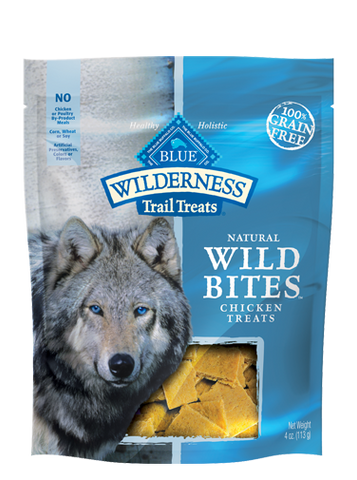 Blue Buffalo BLUE Wilderness Trail Treats® Chicken Wild Bites™ for Dogs