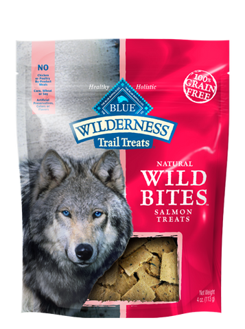 BLUE Wilderness Trail Treats® Salmon Wild Bites™ for Dogs