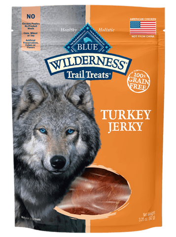 BLUE Wilderness Trail Treats® Turkey Jerky Dog Treats