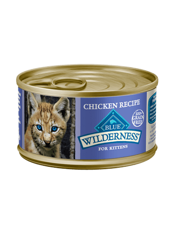 Blue Buffalo BLUE Wilderness Chicken Recipe for Kittens
