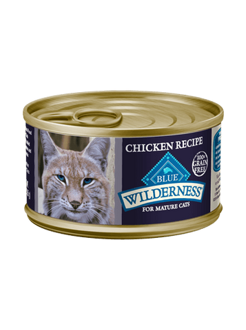 Blue Buffalo Blue Wilderness Chicken Recipe for Mature Cats