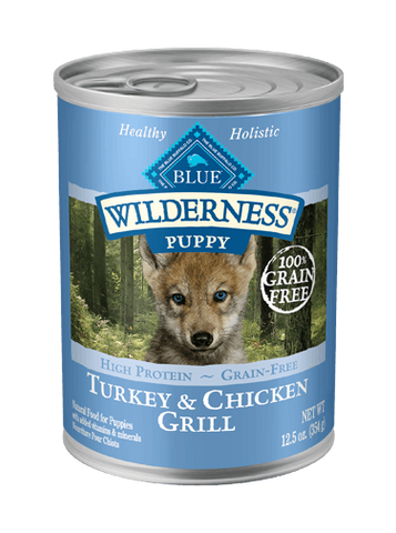 BLUE Wilderness® Turkey & Chicken Grill for Puppies