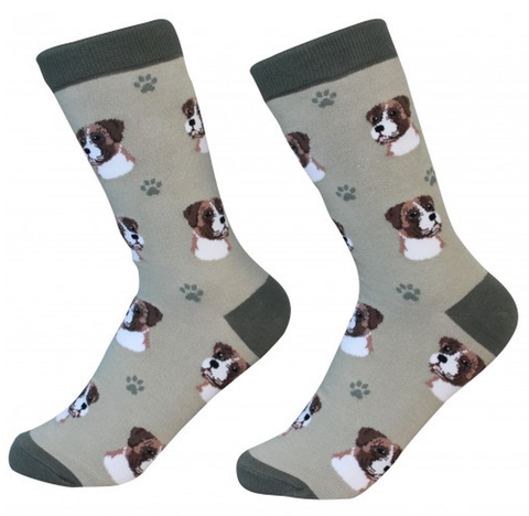 Sock Daddy Breed Socks, Boxer