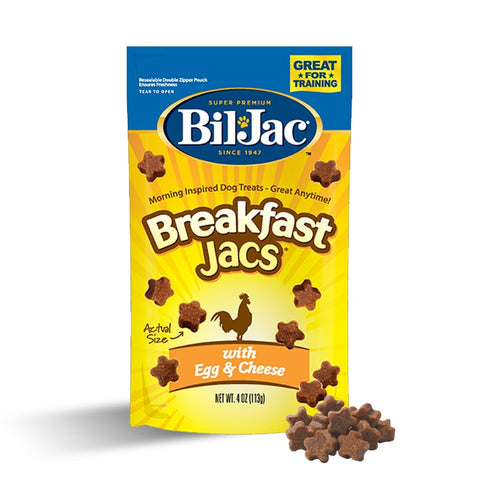 Bil-Jac Egg and Cheese Dog Treat, 4 Ounces