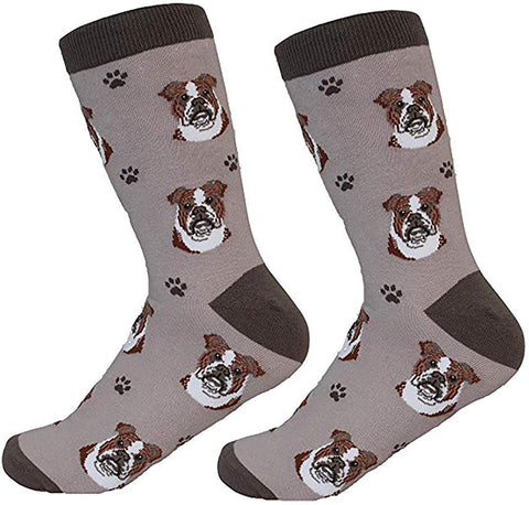 Sock Daddy Breed Socks, Bulldog