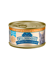 BLUE Wilderness Wild Delights Chicken & Turkey Recipe for Cats