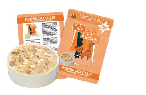 Weruva Pumpkin Jack Splash Tuna in Pumpkin Soup Recipe Cat Food