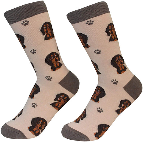 Sock Daddy Breed Socks, Dachshund Black