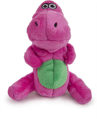 goDog® Just for Me Dinos T-Rex with Chew Guard, Pink, Mini