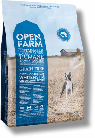 Open Farm Catch-of-the-Season Whitefish & Green Lentil Dog Food