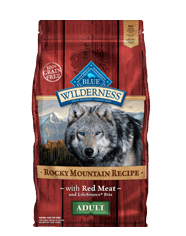 Blue Buffalo BLUE Wilderness Adult Red Meat for Dogs