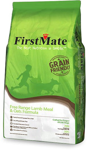 FirstMate Grain Friendly Free Range Lamb & Oats Formula Dog Food