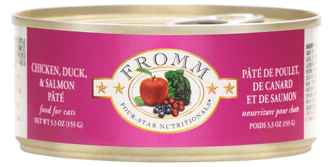 Fromm Four-Star Nutritionals® Chicken, Duck, & Salmon Pâté Food for Cats